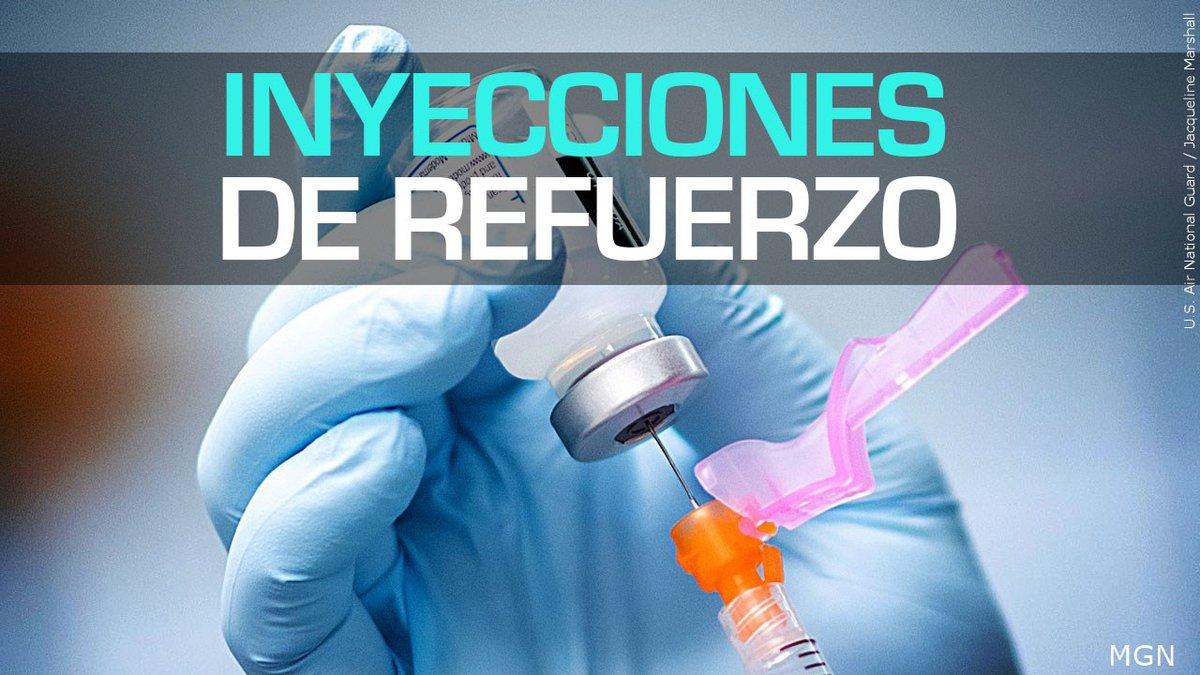 Inyecciones de refuerzo.