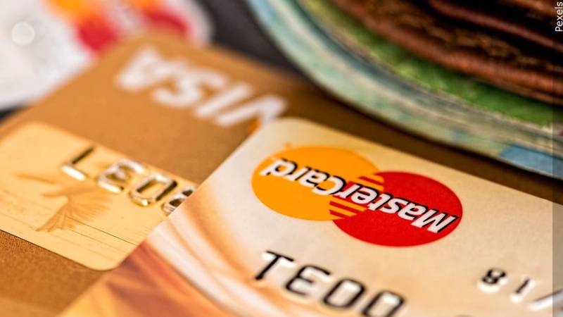 Tarjetas de crédito. (Pexels)