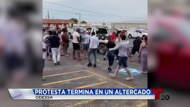 Por segunda vez la comunidad Cubana en el oeste de Texas se reune para alzar su voz