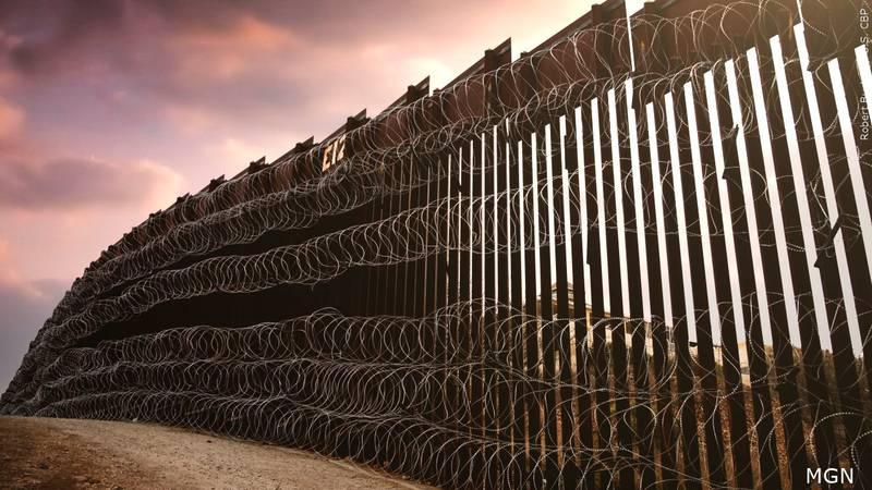 Muro fronterizo entre EE.UU y México