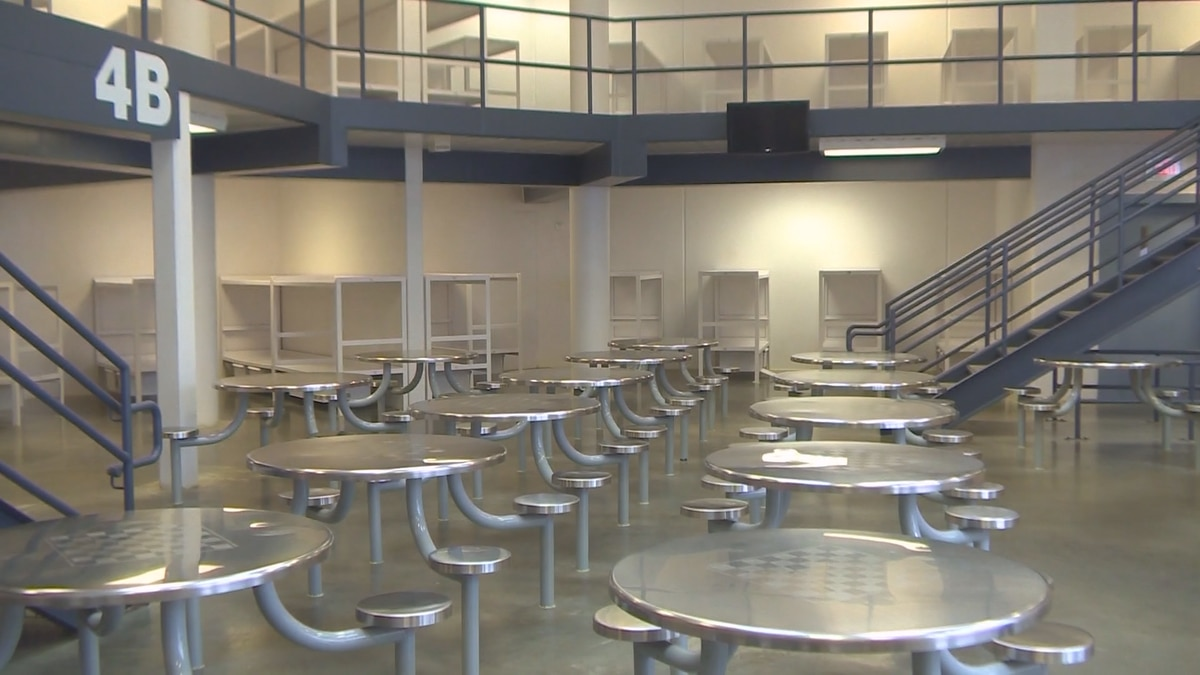 More than 50 inmates are currently positive with COVID-19 in the facility.